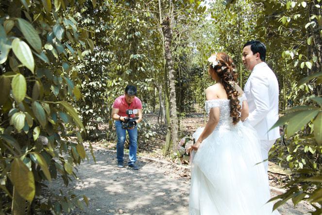 Quay phim cưới